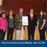 Proclamation from City of Irvine