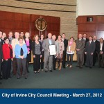 2012 Proclamation from City of Irvine